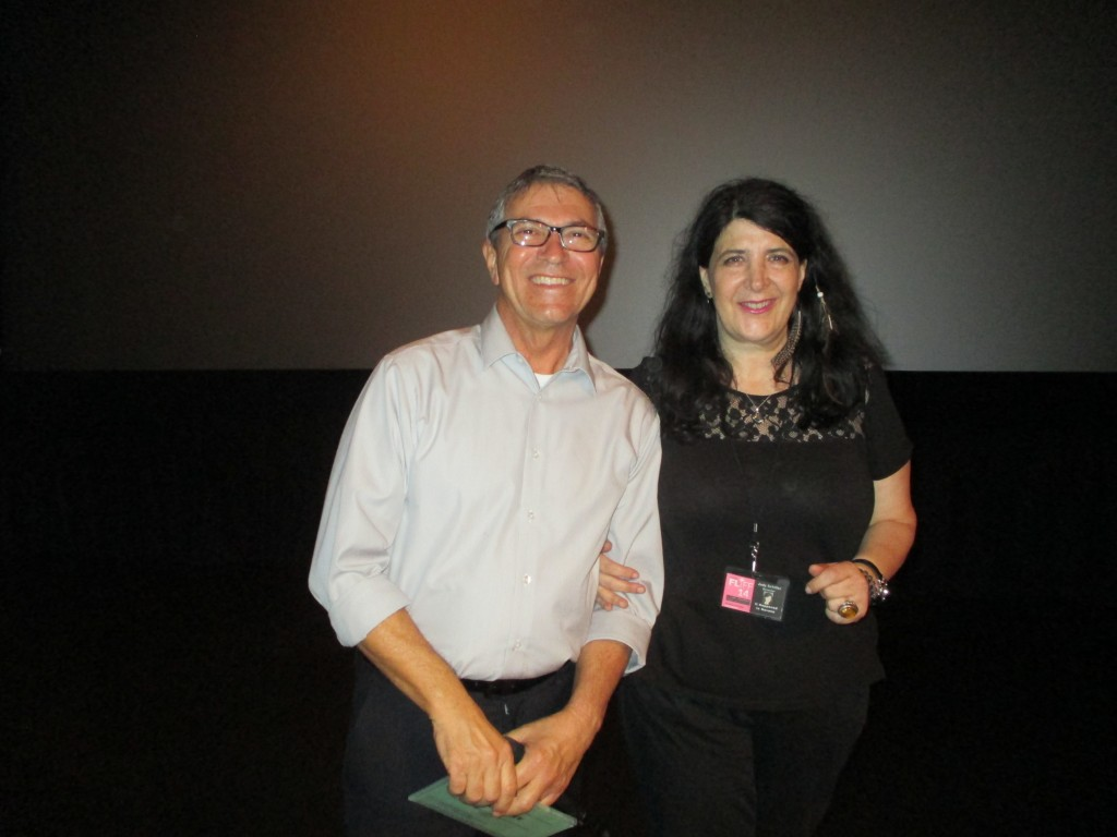 With the head of the Fort Lauderdale International Film Festival Gregory von Hausch who introduced my film at the 3rd screening.