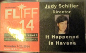 Checked in and got my badge. Love the word Director under my name.